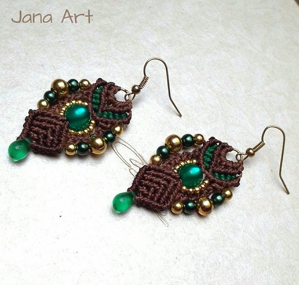 orecchini emerald