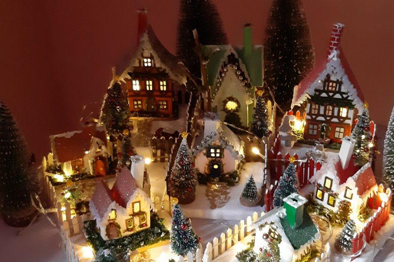 Il Villaggio di Natale: fatto a mano con amore!